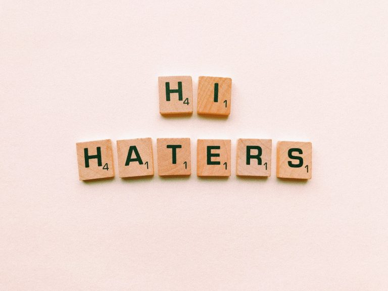 Why having haters is a good thing